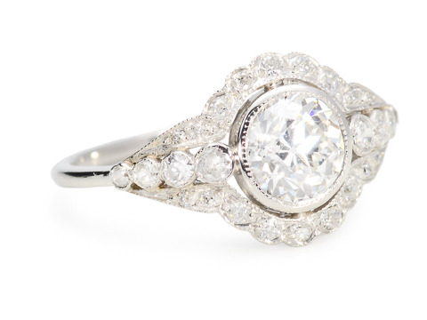 Ever After - 1.01 ct Diamond Platinum Ring