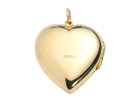 Vintage Heart Shaped Photo Locket