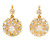 Vintage Perfection: Diamond Cluster Earrings