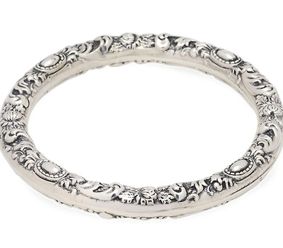 Art Nouveau at a Glance: Sterling Bangle