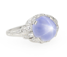 Wish Upon a Star Sapphire Diamond Ring