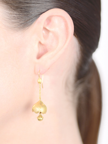 Ring the Bells: Victorian Floral Bells Earrings