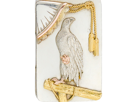 Victorian One-of-a-Kind Falcon Locket