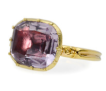 Ode to the Exotic - Georgian Amethyst Ring