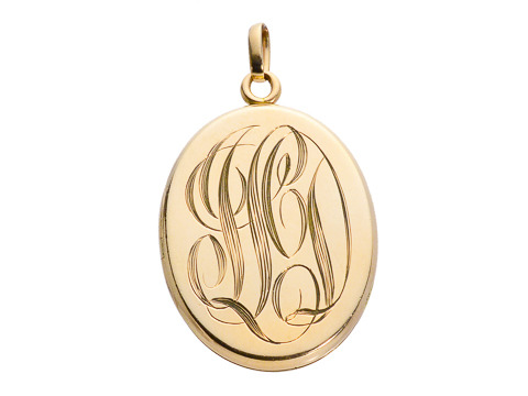 Whisper Thin Gold Photo Locket