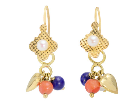 French Flair: Charmed Day Night Earrings