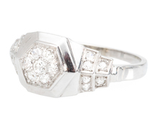 Honoring Art Deco with a Diamond Set Ring