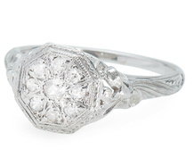 Multiplicity - Diamond Cluster Ring Exceptional