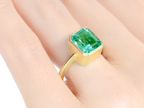 The Exclusive & Elusive Emerald Ring