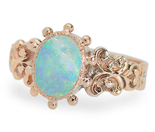 Color Optics - White Opal Ring