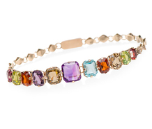 Rainbow's End  - Vintage Bracelet of Gems