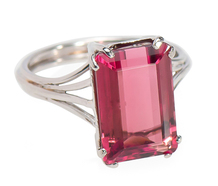 Fancy Fresh 5.02 ct Pink Tourmaline Ring