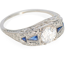 Bridge of Sighs - Diamond Engagement Ring
