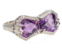Every Facet - Vintage Amethyst Ring