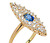 Jewelry History: Art Deco Sapphire Diamond Ring