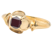 16th C. Wonder - Amazing Tudor Garnet Ring