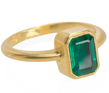 The Three Graces Exclusive Emerald Ring