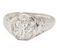 Eight is Enough - Diamond Cluster Ring