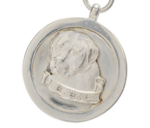 British Bullmastiff League Medallion Pendant