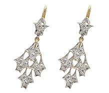 Frost & Ice Diamond Earring