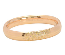 Sweet Sentiment: Engraved Vintage Bangle Bracelet