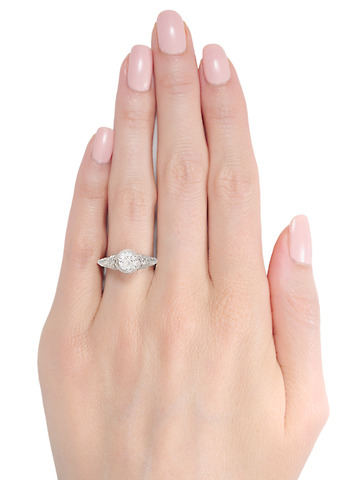 Forever - Antique Engagement Ring G Color