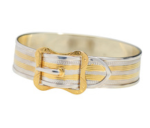 Buckle Bright - Chic Bangle Bracelet