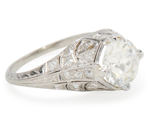 Splendid Diamond Platinum Ring of 1.67 carats