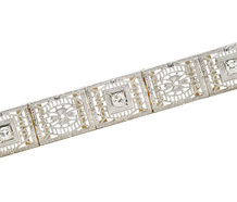 All Occasions Diamond Filigree Bracelet