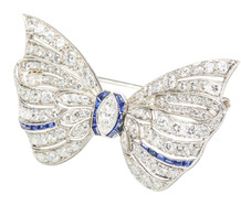 Carrington & Co. Diamond Bow Brooch