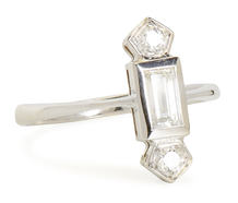 Over the Top: Art Deco Diamond Ring