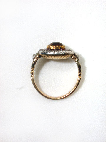 Arresting Antique Georgian Ring