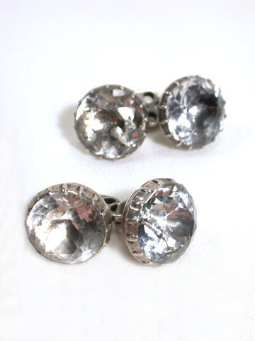 Seeing into the Future: 18th C. Rock Crystal Cufflinks