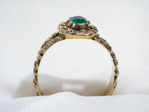 Fit for a Queen: Antique Georgian Emerald Ring