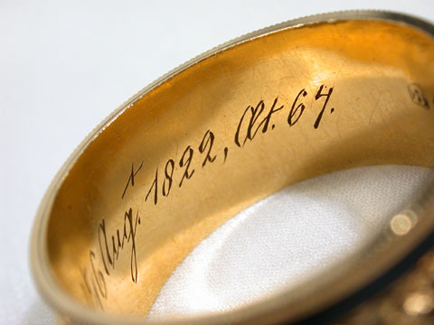 The Make of  Man - Sentimental Antique Ring