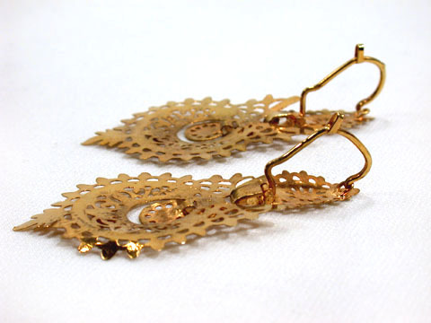 Brincos a Rianha Spanish Earrings