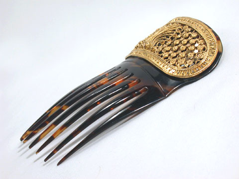 A Jewel for the Hair - Antique Comb