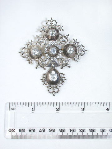 Antique Normandy Cruciform Pendant