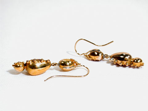 In the Pink: Georgian Paste Earrings