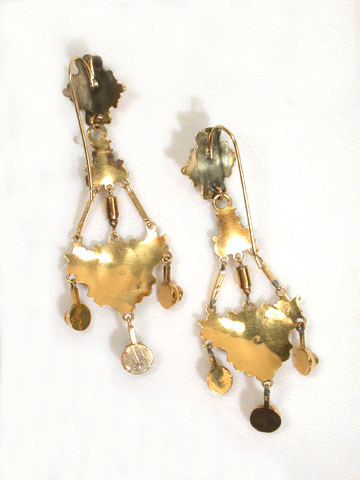 Antique French Empire Dangle Earrings
