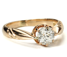 Solitaire Divine - Old European Diamond Ring