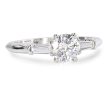 "Stunning ""E"" Color  Diamond Engagement Ring"