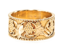 Semper Amor - Golden Grapes & Vines Ring