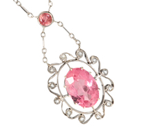 Eye Candy - Tourmaline Diamond Necklace