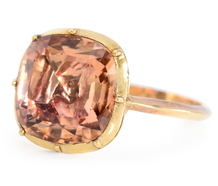 Fantastic Georgian Imperial Topaz Ring
