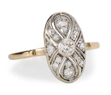 Russian Realm - Diamond Set Ring