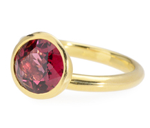Angela Cummings Sculptural Garnet Ring
