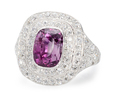 Veritable Luxury - Purple Sapphire Diamond Ring