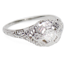 Solitaire for Two: Diamond Engagement Ring