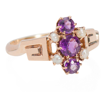 Design Collaboration - Victorian Amethyst Ring